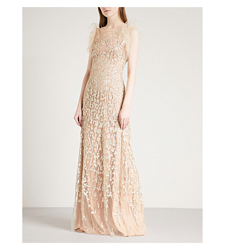 JENNY PACKHAM Embellished tulle gown (Illusion