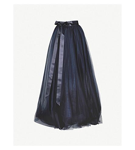 JENNY PACKHAM High-rise tulle skirt (Midnight