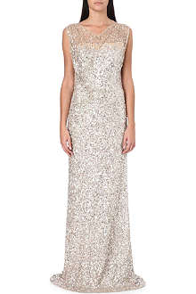 JENNY PACKHAM Sequin-embellished gown