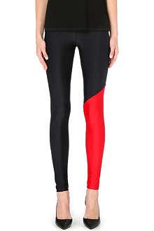 FAUSTO PUGLISI Contrast print leggings