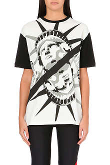 FAUSTO PUGLISI Statue of Liberty cotton t-shirt
