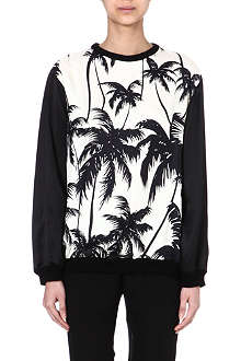 FAUSTO PUGLISI Silk palm tree top