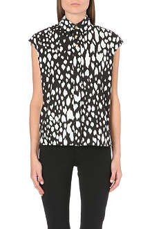 FAUSTO PUGLISI Printed cotton shirt
