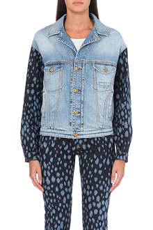 FAUSTO PUGLISI Sleeve-detail denim jacket