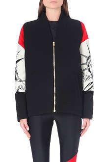 FAUSTO PUGLISI Statue of Liberty bomber jacket