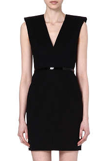 SAINT LAURENT Sleeveless V-neck dress