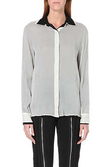 JEAN PAUL GAULTIER Double-layered silk shirt