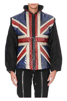 JEAN PAUL GAULTIER Union Jack quilted jacket