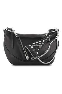 JEAN PAUL GAULTIER PM small leather hobo