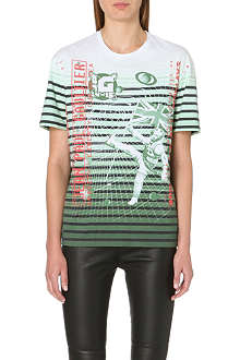 JEAN PAUL GAULTIER Masters striped t-shirt