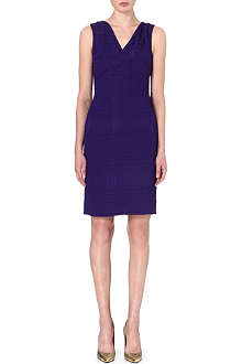 OSCAR DE LA RENTA Sleeveless crepe dress