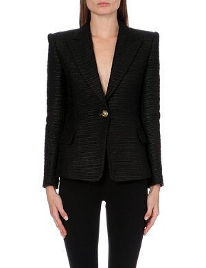 BALMAIN Tailored woven jacket