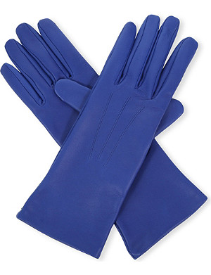 CAUSSE GANTIER Mid-length leather gloves