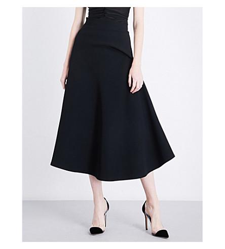 MATICEVSKI Maximise high-rise jersey skirt (Black