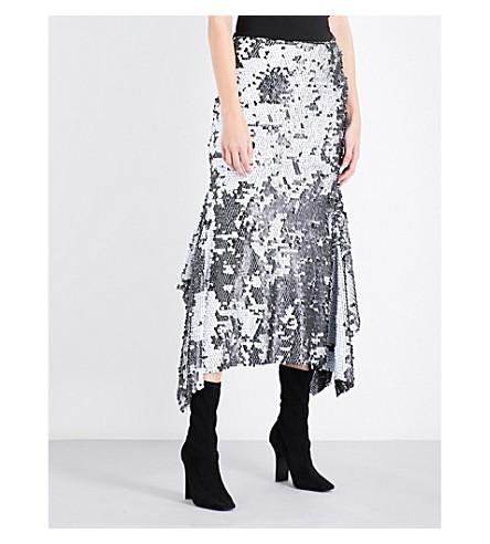 MATICEVSKI Starry Night high-rise embellished skirt (Starry+sequin