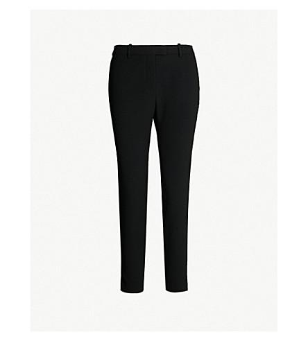 ALTUZARRA Henri mid-rise skinny crepe trousers (Black
