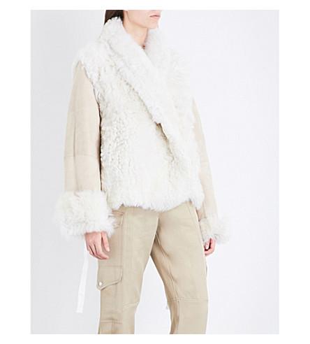 SIES MARJAN Teri shearling jacket (Paper
