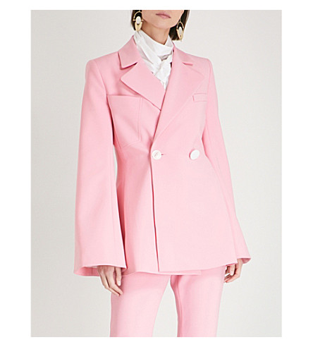ELLERY Double-breasted cotton jacket (Pink