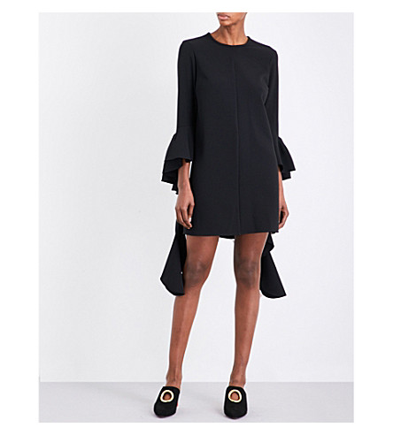 ELLERY Kilkenny crepe mini dress (Black