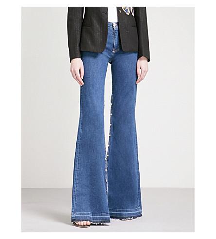 PHILIPP PLEIN Skinny flared high-rise jeans (Amnesia