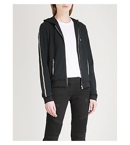 PHILIPP PLEIN Tilly cotton-blend hoody (Black