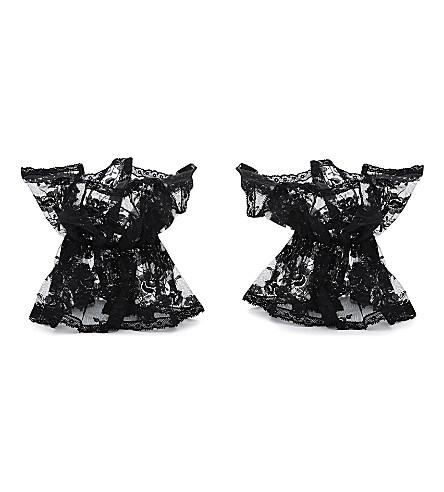 ANNA SUI Lace cuffs (Black