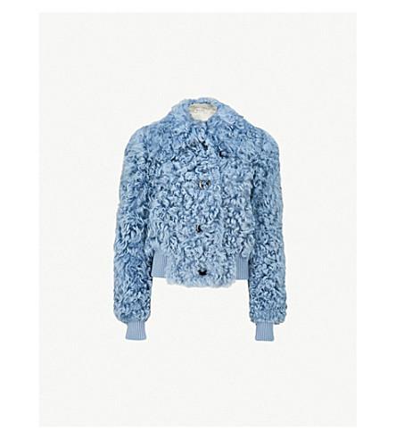 MIU MIU Cropped shearling jacket (Astrale