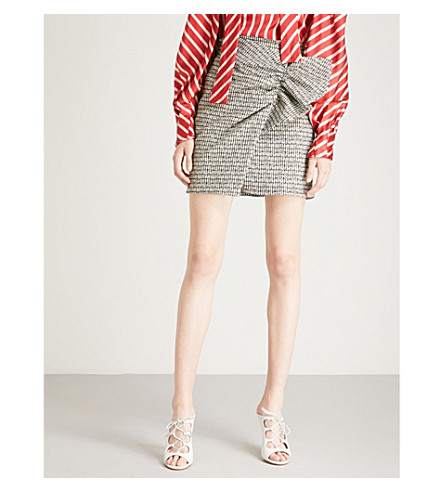 SILVIA TCHERASSI Willow tweed skirt (Tweed