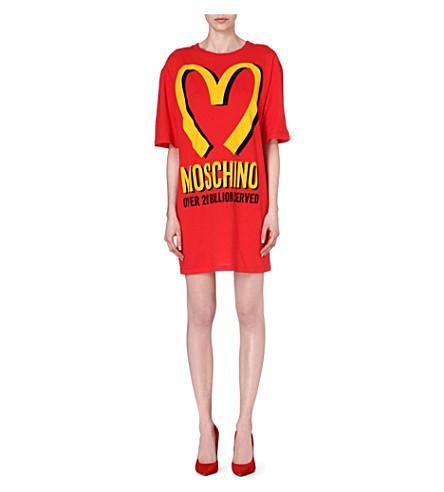 MOSCHINO M t-shirt dress (Red