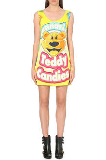 MOSCHINO Teddy Candies stretch-jersey dress