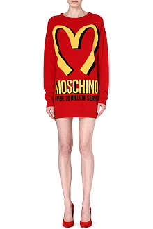 MOSCHINO M knitted mini dress