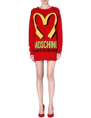 MOSCHINO M knitted mini dress