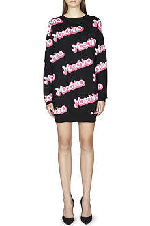 MOSCHINO Logo-detail jumper dress