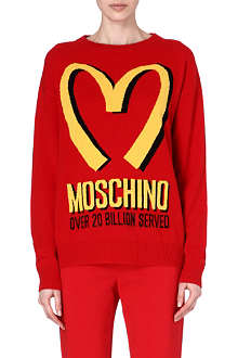 MOSCHINO M knitted sweatshirt