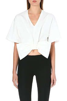 MOSCHINO Bow-detail top
