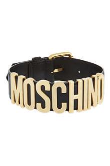 MOSCHINO Logo choker