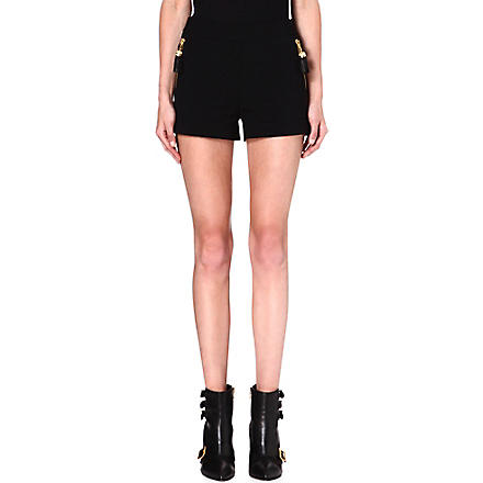 MOSCHINO High-waisted quilted shorts (555