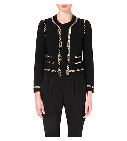 MOSCHINO Chain detail jacket (555