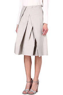 DONNA KARAN Structured full skirt