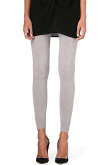 DONNA KARAN Cashmere-blend leggings