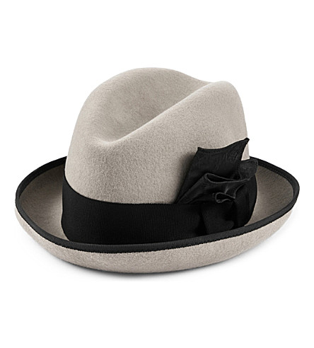 STEPHEN JONES Aimes Trilby (Pale+grey