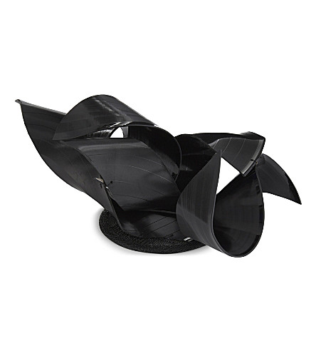 STEPHEN JONES Record Quiff fascinator (Black