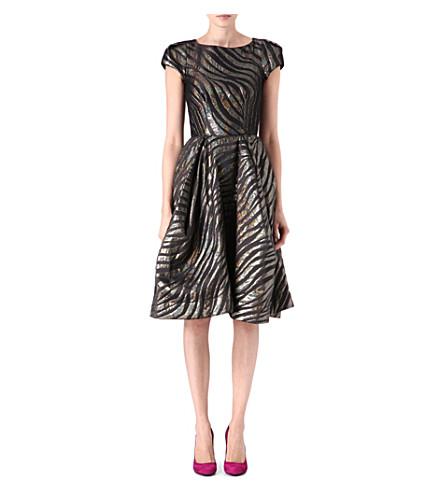 VIVIENNE WESTWOOD Lamé tiger-print dress (Tiger