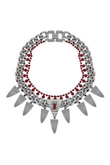 MAWI Fangs chain necklace
