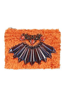 MAWI Flower clutch bag