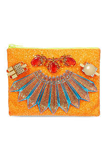 MAWI Glitter clutch