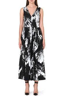 PREEN Floral maxi dress
