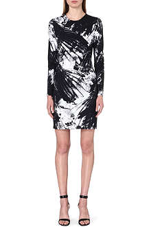 PREEN Bird-print jersey dress