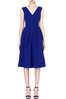 PREEN Cut-out pleated dress