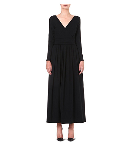 PREEN BY THORNTON BREGAZZI Bergman maxi dress (Black